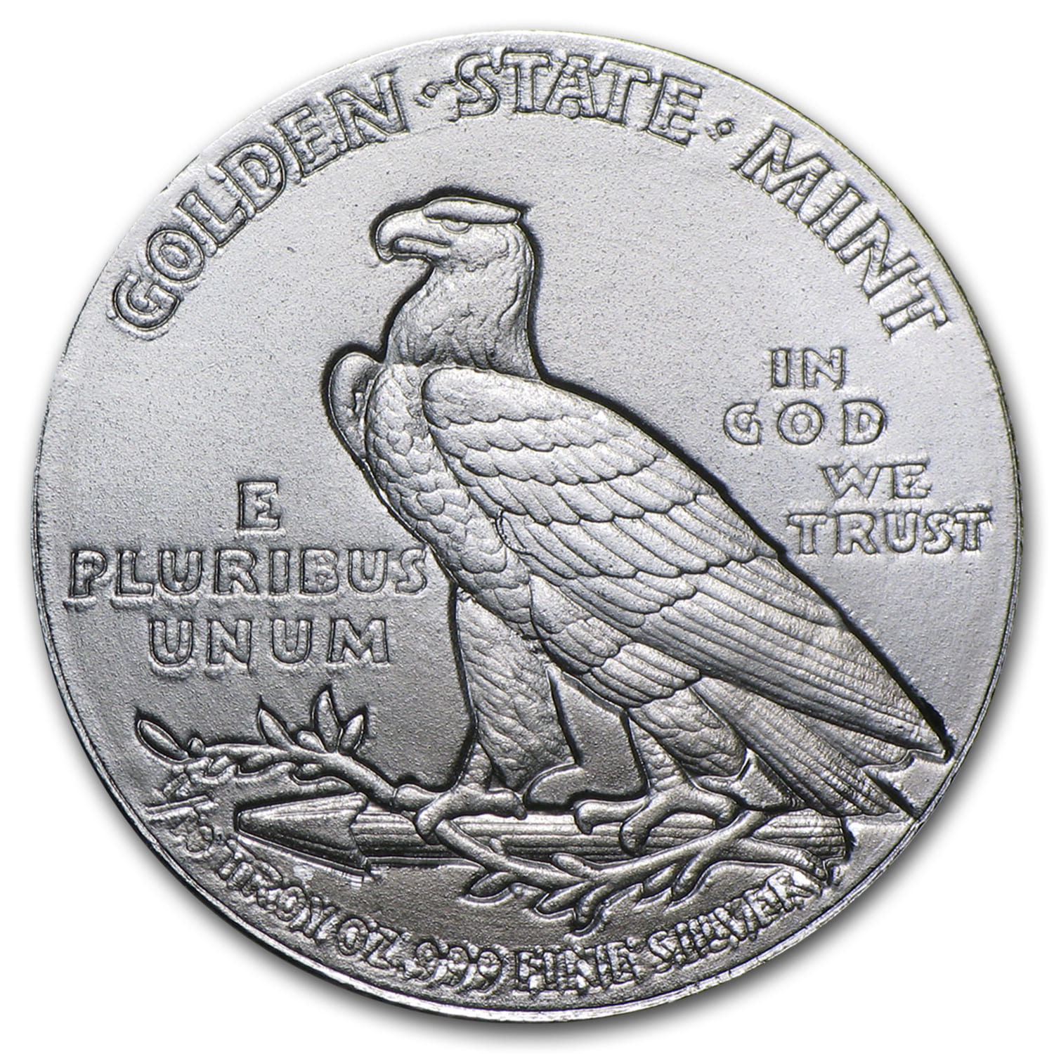 1/10 oz Silver Rounds - Indian Head